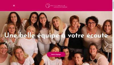 Site internet de Maman Bulle