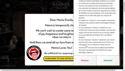 Site internet de Mama Lyon