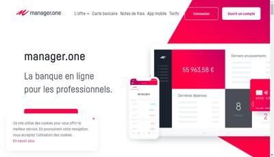 Site internet de Manager One