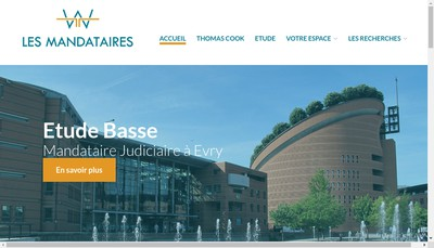 Site internet de SELARL C Basse