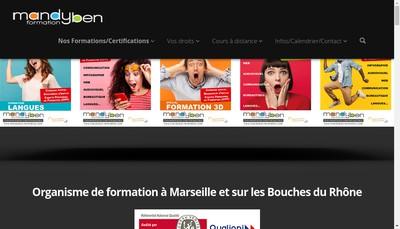 Site internet de Mandyben