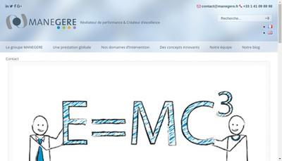 Site internet de Mane Gere Associes