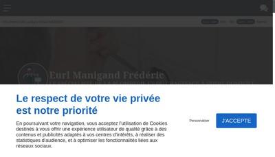 Site internet de EURL Manigand Frederic