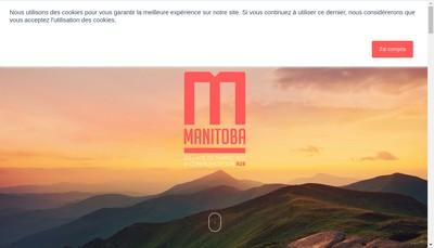 Site internet de Manitoba Praxis Communication