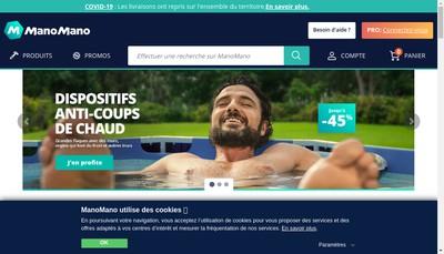 Site internet de Colibri - Monechelle Com - Manomano - Supermano