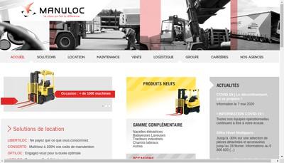 Site internet de Manuloc