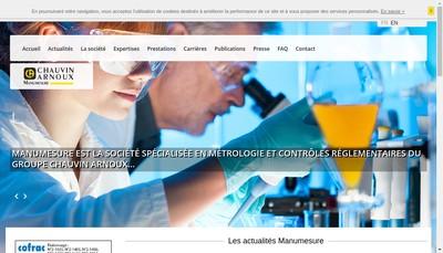 Site internet de Manumesure