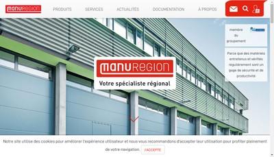 Site internet de Manuregion