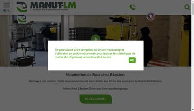 Site internet de Manut Lm
