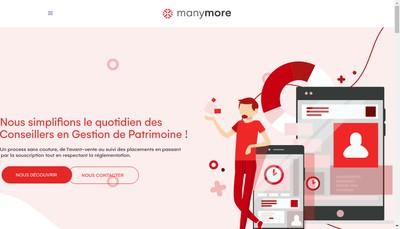 Site internet de Manymore