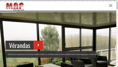 Site internet de Menuiserie-Aluminium-Plastique