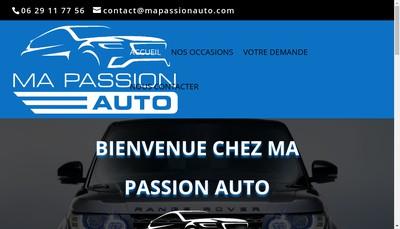 Site internet de Ma Passion Auto