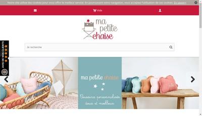 Site internet de Ma Petite Chaise
