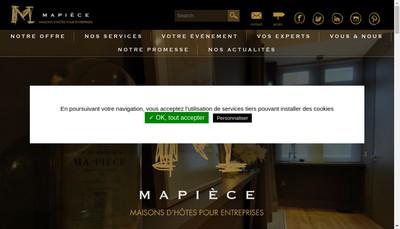 Site internet de Mapiece Bellecour