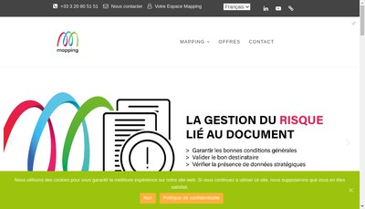 Site internet de Mapping Suite