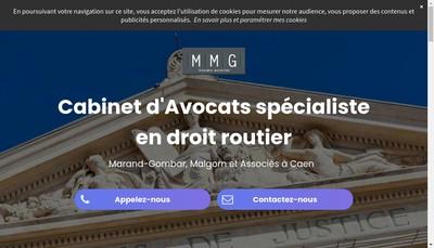Site internet de Cabinet Marand Gombar et Malgorn
