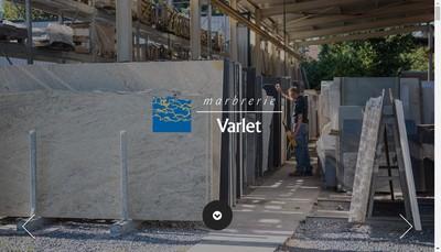 Site internet de Marbrerie Varlet