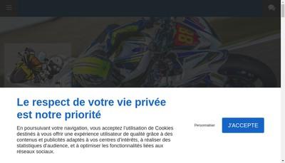 Site internet de Marchal Moto