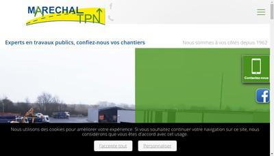 Site internet de Marechal TPN