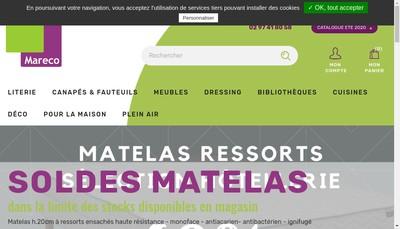 Site internet de Mareco