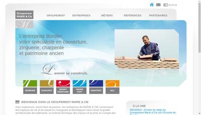 Site internet de Entreprise Marie et Compagnie