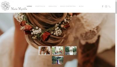 Site internet de SARL Marie Myrtille