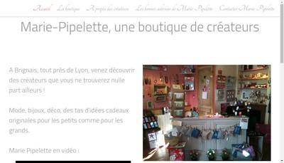 Site internet de Marie Pipelette