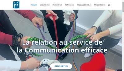 Site internet de Marie Maquaire