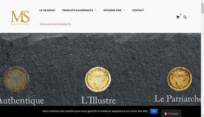 Site internet de Maison Marie Severac