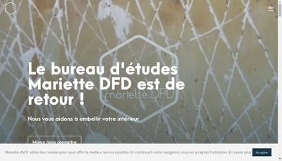 Site internet de Mariette
