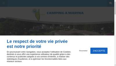 Site internet de A Marina