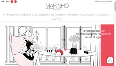 Site internet de Marinhho Paris