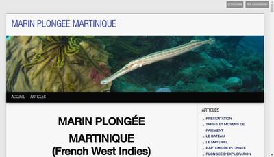 Site internet de Marin Plongee