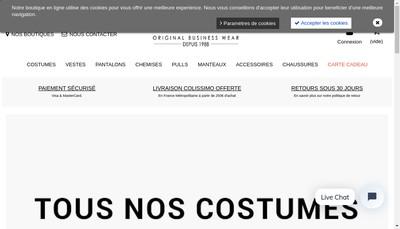 Site internet de Nouvelle Dessuti