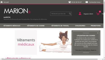 Site internet de Maison de la Blouse
