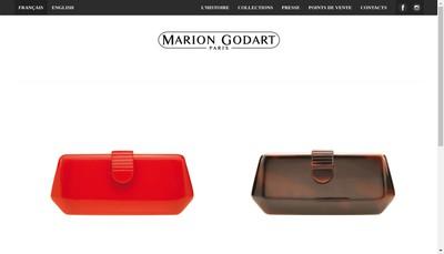 Site internet de Societe Marion Godart