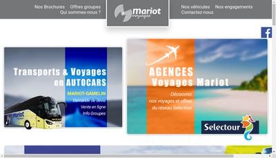 Site internet de Mariot Gamelin