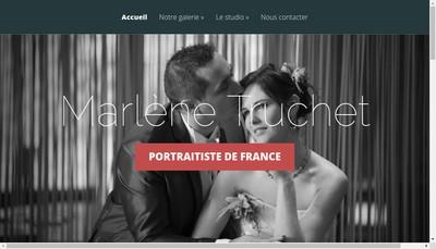 Site internet de Marlene Truchet Photographe