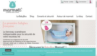 Site internet de Marmott'