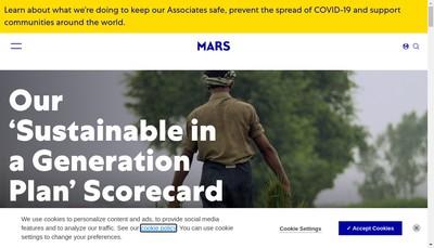 Site internet de Mars- Moustache- Chien Mon Ami- Chat Mon Ami- Mypetstop- Mars Petcare