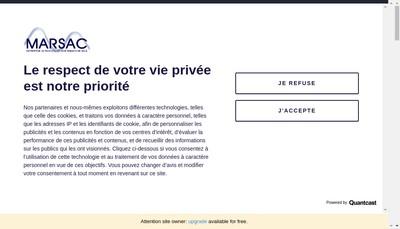 Site internet de Marsac
