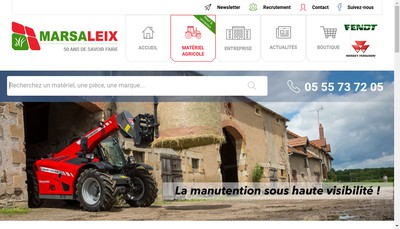 Site internet de Agroleix 24