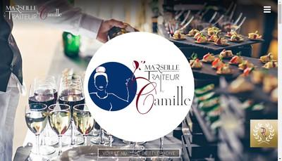 Site internet de SNC Marseille Traiteur