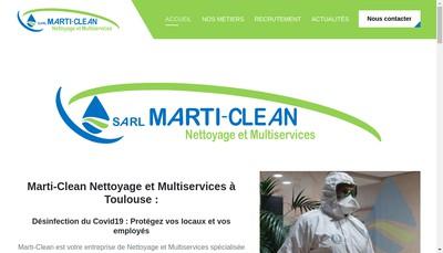 Site internet de Marti Clean