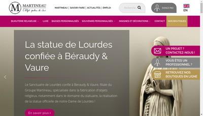 Site internet de Martineau