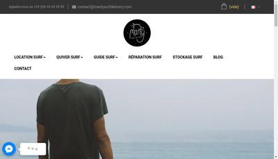 Site internet de Martin Dupont