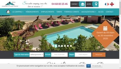 Site internet de Le Mas Llinas