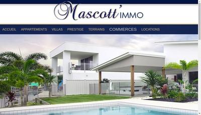 Site internet de Agence Immobiliere Mascotte Immo