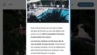 Site internet de Mas d'Aigret