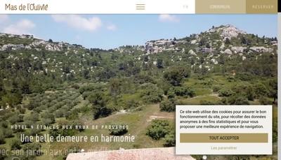 Site internet de Mas de l'Oulivie